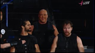#WWETLC KURT ANGLE The Shield ENTRANCE RETURN 2017 WWE TLC: Tables, Ladders and Chairs