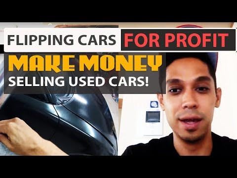 Flipping Cars for Profit - So Easy Your Grandmother Can Do it (Make Money Selling Used Cars!)