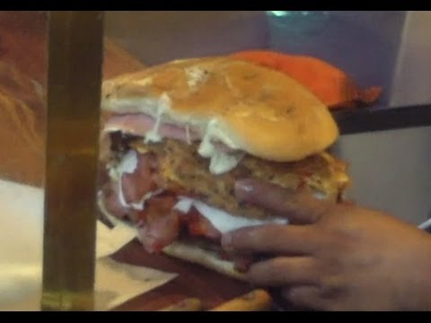 Biggest Sandwich Ever Made  La Torta Mas Grande