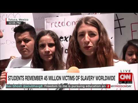 My Freedom Day Special - students worldwide fight to end human trafficking