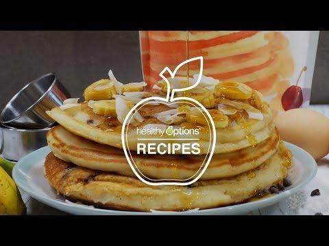 Banana & Choco Chip Pancakes