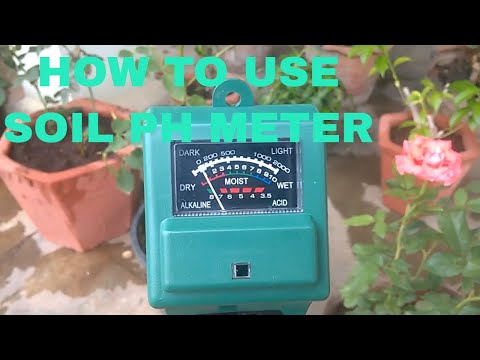 how to use soil ph meter(AMAZON)