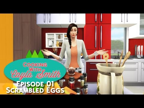 The Sims 4 Machinima | Cooking With Cayla Smith - Episode 01 Scrambled Eggs [Bahasa Indonesia]