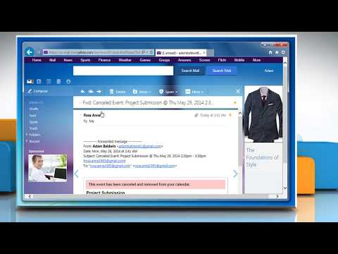 Unable to Forward e-mail in Yahoo!® Mail