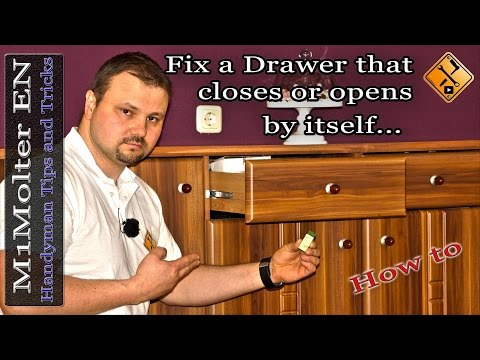 Fix a Drawer that closes or opens by itself....