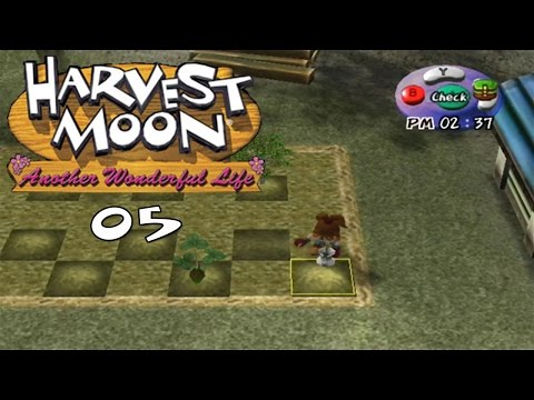Let's Play Harvest Moon: Another Wonderful Life 05: Tomatoes and Strawberries