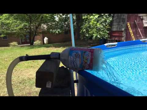 How to Remove iron from your swimming Pool