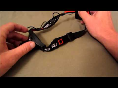 The Best Headlamp under $10 - 300 Lumen CREE LED Headlamp Review