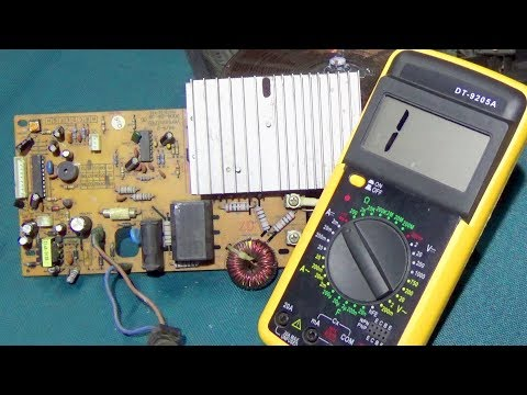 Induction Cooker Power Problem Repair - Step By Step (Full Tutorial)