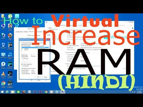 how to increase a ram virtually and speed up your computer in hindi 100% free || dot clu