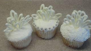 Decorating Cupcakes 64 Wedding Cupcakes Bridal Shower Cupcake