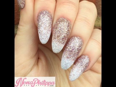 How To Do Glitter Ombre Tutorial-Sprinkling & Burnishing Method