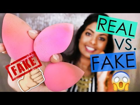 REAL Vs. FAKE BEAUTY BLENDER - Should You Buy The Real Beauty Blender?
