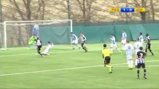 4 febbraio 2017 sintesi Pescara - Udinese Primavera 2-0