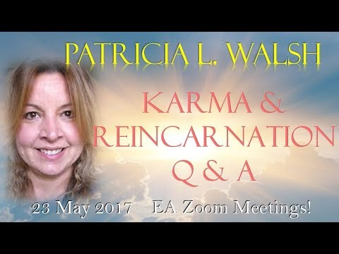 Patricia Walsh on Karma and Reincarnation 2017 - Evolutionary Astrology Zoom Meeting