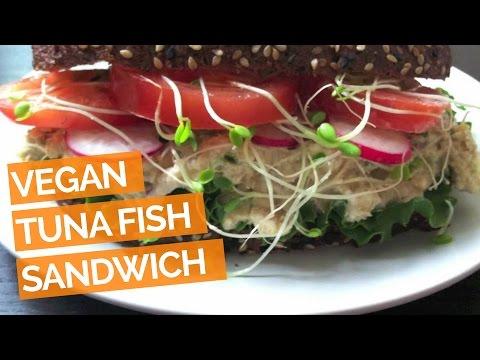 Tuna Salad Sandwich Recipe (Vegan)