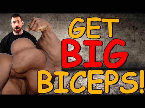 How to get BIG Biceps   How to get BIGGER Biceps   How to Build Biceps Workout for MASS