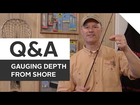 How to Gauge Water Depth Without Fancy Gadgets | Fishing Q&A