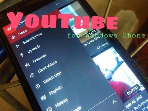 The YouTube's App for Windows Phone !!