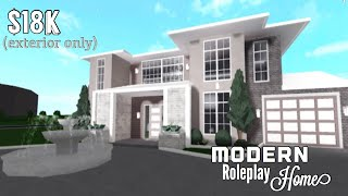 Roblox Welcome To Bloxburg Aesthetic Two Story House 36k