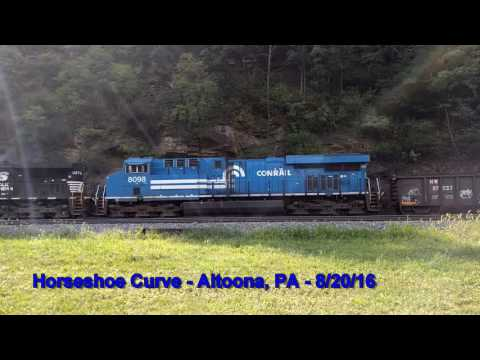 Horseshoe Curve 6 - Altoona, PA - 8/20/16