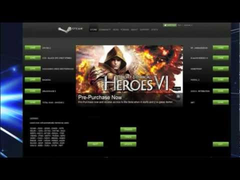 Cracked Version Of Steam, All Of Your Games For Free! With Proof!