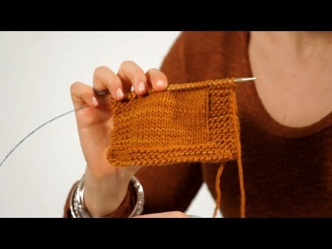 How to Make a Border | Knitting