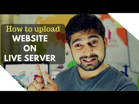How to upload your website to live server - Cpanel