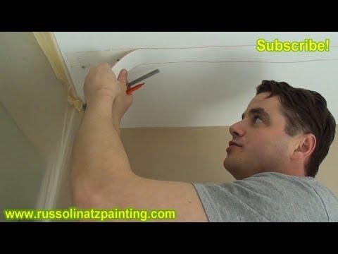 DIY - Repair Cracks in the Ceiling by Removing Old Drywall Tape (Part 1) - Drywall Repair