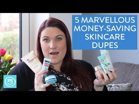How To Save Money With Skincare Dupes | Channel Mum