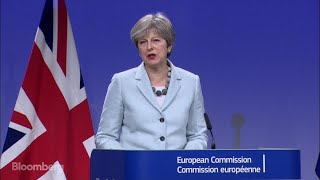 U.K., EU Strike Deal to Unlock Brexit Negotiations