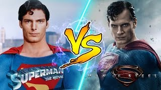 Superman vs Superman! WHO WOULD WIN IN A FIGHT?