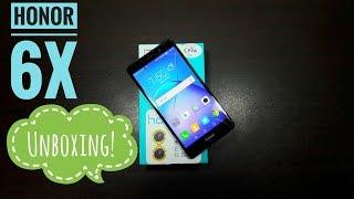 Huawei Honor 6X Unboxing!