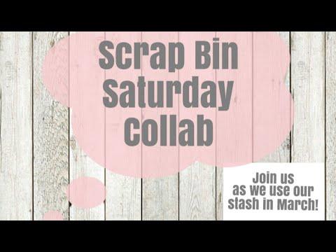 Scrap Bin Saturday ~Shabby 8x10 Canvas