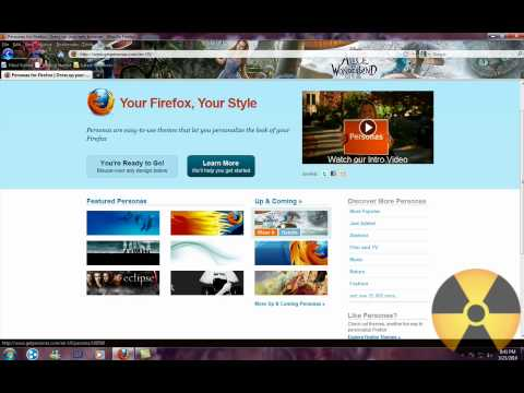 How To Change Your Firefox Background [HD]