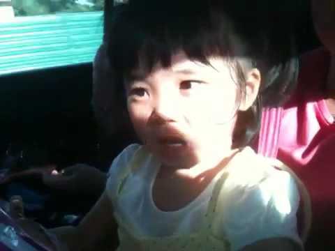 My niece singing