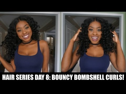HAIR SERIES DAY 8: HOW TO CHANGE THE CURL PATTERN  || Kickin' it with T