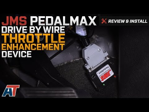 2008-2017 Sierra JMS PedalMAX Drive By Wire Throttle Enhancement Device Review & Install