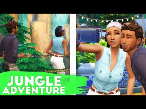 ATTACKED BY BEES + ELECTROCUTED BY BUGS!😳🐝 // THE SIMS 4 | JUNGLE ADVENTURE #2