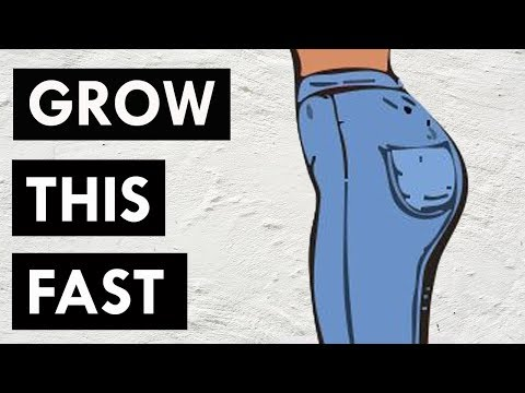 Grow Your Glutes and Hips  | Side Butt | 11 Minute Bigger Glutes & Curvy Hips Workout!