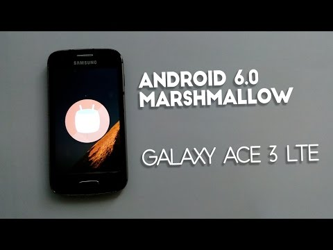 How to Install Android 6.0 Marshmallow On Galaxy Ace 3 LTE