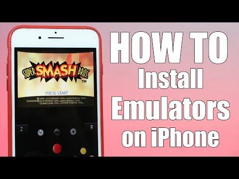 How to Install Retro Emulators on iPhone 7 & iOS 10.3 | Nintendo 64, GBA, PS1 & MORE! (NO Jailbreak)