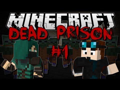 Minecraft | DEAD PRISON! w/ThnxCya | Adventure Map #1
