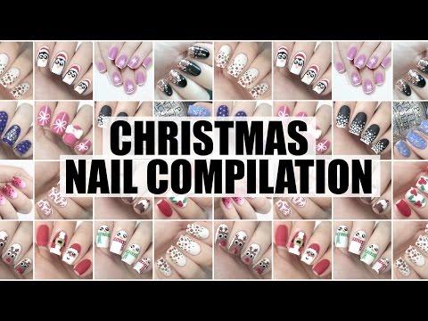 Christmas Nail Art Compilation 2015 | The Nail Trail