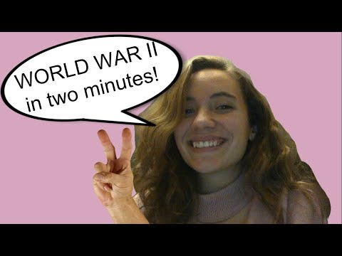 WWII in 2 minutes!
