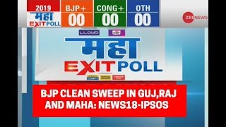 Download Maha Exit Poll 2019: BJP Clean Sweep in Gujarat, Rajasthan and Maharashtra; News18-IPSOS predicts Video
