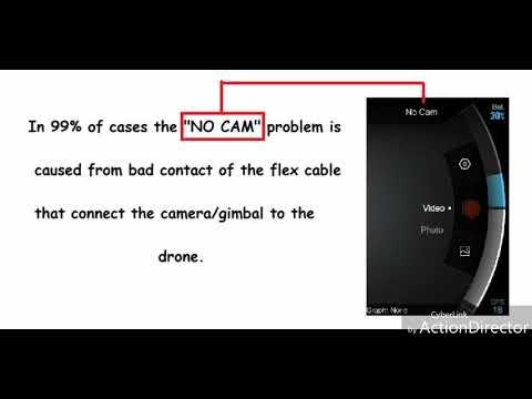 SOLVED No Cam problem issue xiaomi mi drone 4k uhd dji