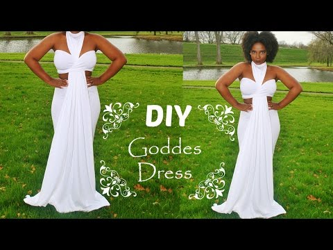 How to: DIY Goddess Dress
