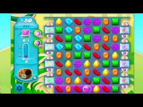 Candy Crush Soda Saga Level 328 No Booster  3* 5 moves left