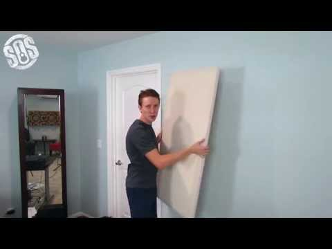 How to Hang Floating Acoustic Absorption Panels